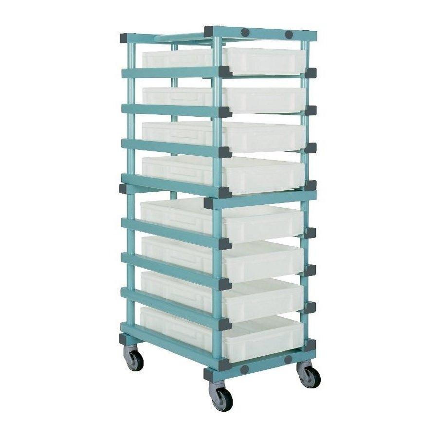 Buy Bakery Tray Trolley 600 X 830 X 1470mm Single 10