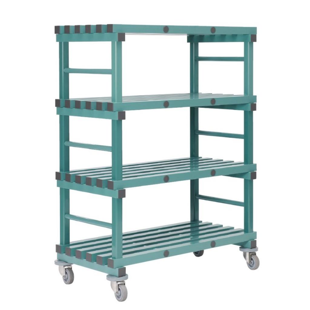 Buy Mobile REA Plastic Racking 1200 x 600 x 1580mm - 4 shelf at Rea ...